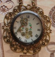 Clockworks and Filigree Steamp by cjgrand
