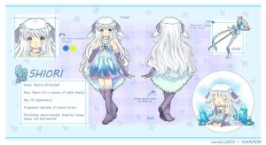 Shiori Reference Sheet by Marcherin