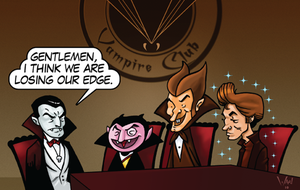 Vampire Club Meeting by WarBrown
