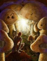 Secret of the Shrooms by zorm