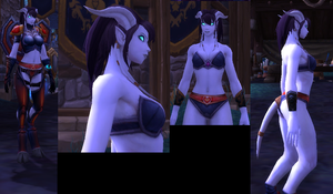 My Draenei Model and Character by monogatarithenice
