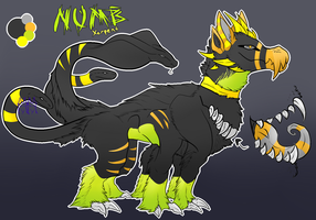 Numb Xerpent ref. sheet by Synthetic--Ecstasy