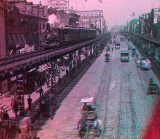 Bowery, NYC c. 1902 (1st try ever at 3D) by xgi93