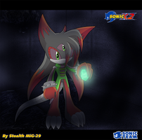 AT: Eva .:Sonic X style:. by Fireball-Flamery