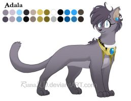 Adala::. Color Reference by RianaLD