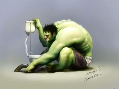 hulk-o-holic by fishboo