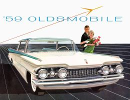 age of chrome and fins : 1959 Oldsmobile by Peterhoff3
