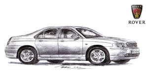 British Luxury Sedan before bought by BMW by toyonda