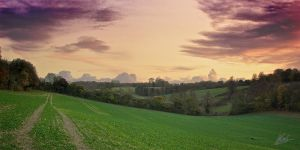 Farthing Downs Sunset 9 by andy1349