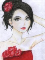 in red by Mari945