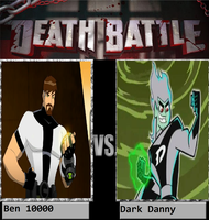 Ben 10000 Vs Dark Danny by KeybladeMagicDan
