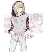 Yuri Plisetsky ( Yuri!!! on Ice ) by Dainty-Apple