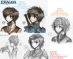 Eragon -- Sketchdump FFT Style by SaR-ness