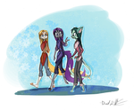 DreamKeepersSketch PassingBy by Ethereal-Harbinger