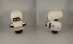 WallE Mo plush commission by pandari