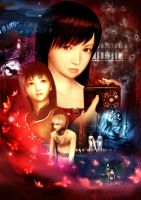 fatal frame poster by ruriann
