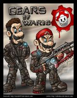 Gears of Wario commission by Kayzig