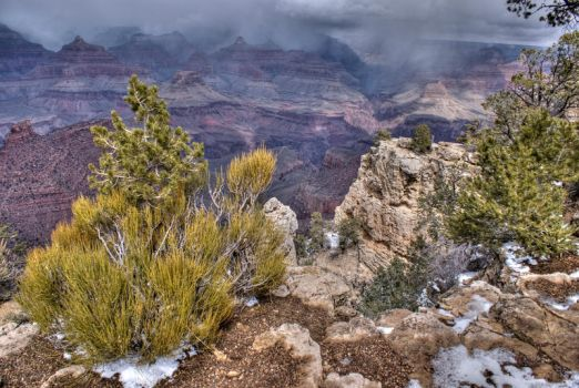 Storm over Grand Canyon by PaSidor