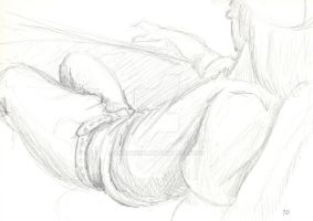 Life Drawing 11.3.09 3 by Lenore5k