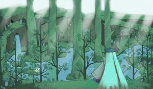 Okami - Agata Forest by Yuna-Dragon
