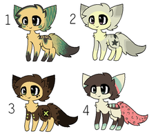 Cat adoptables ALL TAKEN by xXPeppiXx