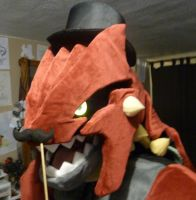 Groudon Costume -Sneak Peek by CanineHybrid