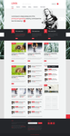 Premium Wordpress theme LOVEit by gatisatmixlv