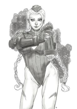 Cammy Sketch by funeralwind