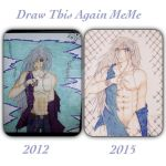 Draw this again meme vampire knight by Etsuko-Hime