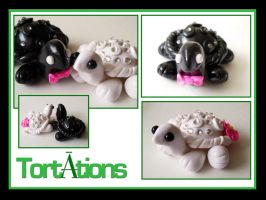 Tortation Wedding Cake Topper by Tortations