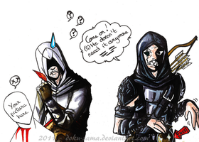 Altair and Garrett by Doku-Sama