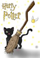 Harry Potter - Flyer by Marlou-Chan