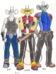 Biker Mice Reloaded by champion-kytrei