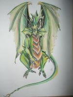 Green Dragon by yessica83