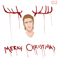 Red Reindeer by o2xygeno