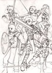 DnD A Team WIP by OrangeSbr