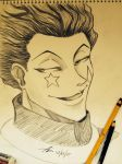 Hisoka by miothedaydreamer