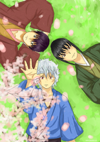 Gintama Cherry Blossom by GinSoul