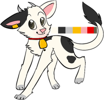 Cow Wolf Auction -Closed- by Scarheart-adopts
