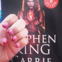 Stephen King's Carrie nails art by rottenheart54
