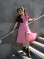 Aerith Gainsborough by Liquidfire3