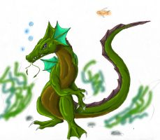 The Water Dragon by brightcat13527