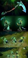 Dota2 Laments of the Dead by polyphobia3d