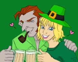 Happy Saint Patrick's Day 2012 by TheLastUnicorn1985