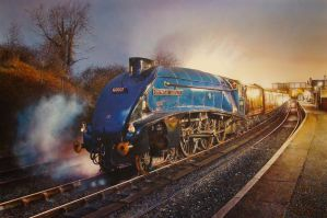 Sir Nigel Gresley by jamesgreen