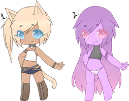 (CLOSED)(Auction) Cash Adoptables: Random two by Acetylace-Adopts