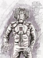 cyberman 1980's by MonsterIslandStudios