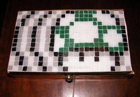 Toad mosaic box by enricap