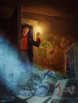 Johnny Freak - Dylan Dog by AndreaSchepisi