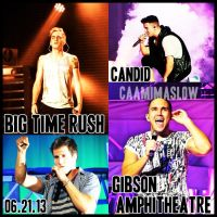 Big Time Rush Summer Break Tour 06.21.13 CA Part1 by CaamiMaslow
